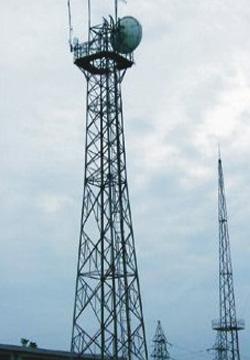 信丰公司供应直销通信微波铁塔制作安装