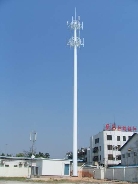 信丰公司直销插接式单管塔制作安装