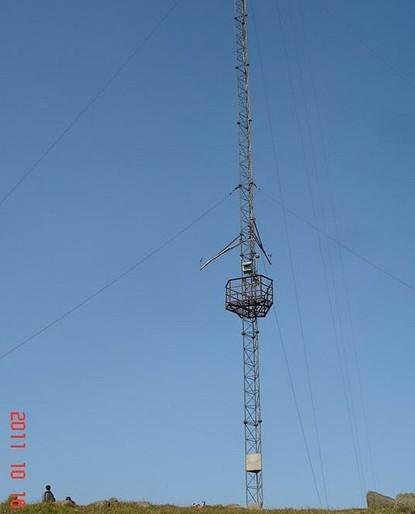 信丰供应直销拉线测风塔 制作安装