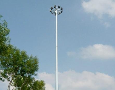 信丰公司直销货场高杆灯