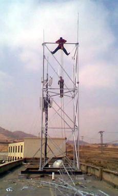 信丰直销供应楼顶增高架