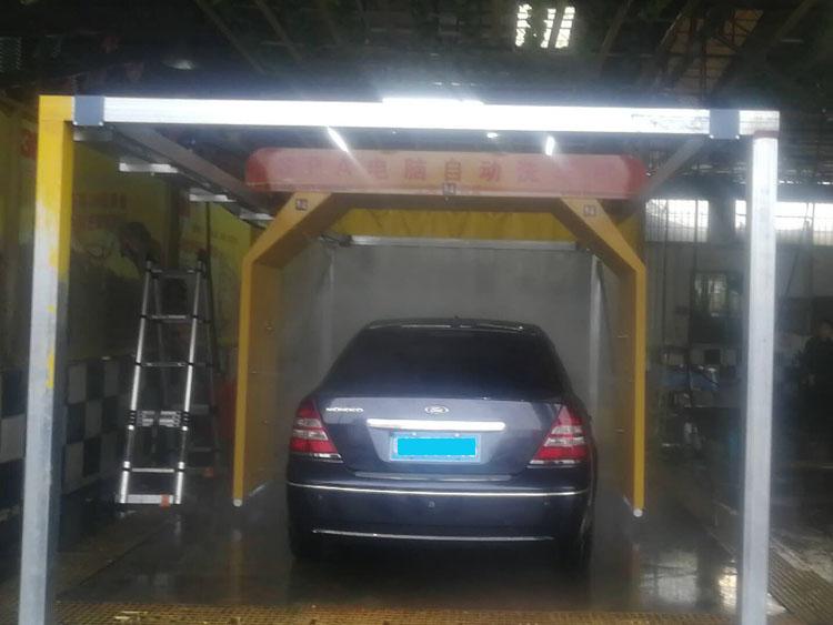 上海有爱天轨式全自动洗车机S-9018型洗车设备厂家报价