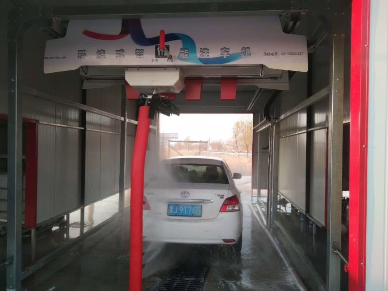 上海有爱旋七环绕全自动洗车机S-918型无接触电脑洗车设备