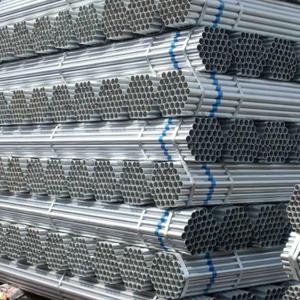 大量现货供应Q235镀锌管 安全隔离不锈钢燃气热镀锌管消防镀锌管 镀锌钢管