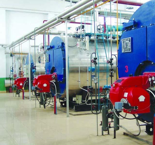 WNS系列全自动燃油蒸汽锅炉