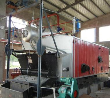 豫园锅炉2吨生物质锅炉 生物质颗粒锅炉