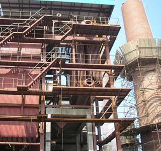 35吨流化床锅炉 大型工业锅炉