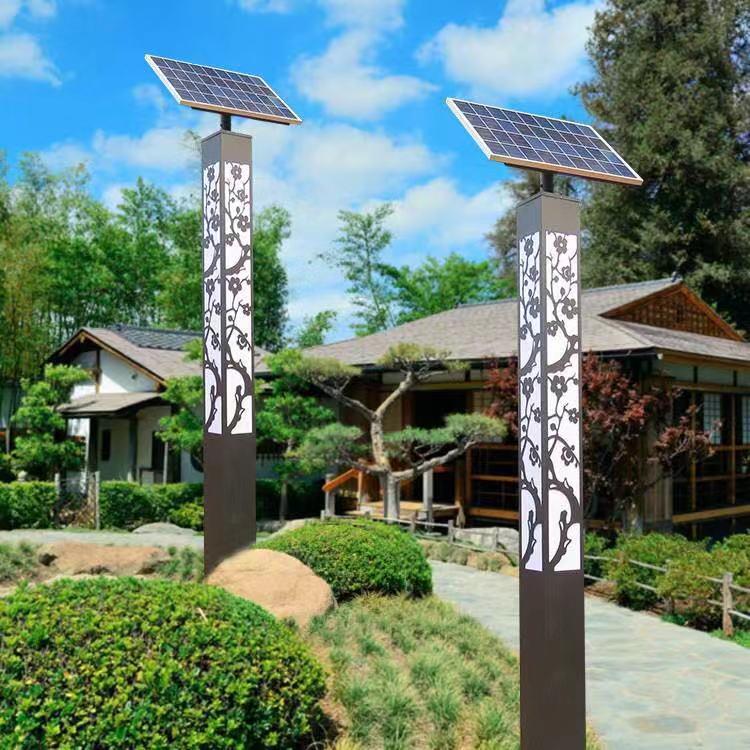 4米太阳能庭院灯 江苏科尼太阳能路灯厂家