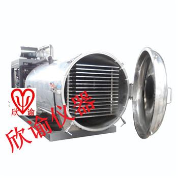食品冻干机XY-GY大型水果蔬菜冷冻干燥机石墨烯生产用真空冷冻干燥机
