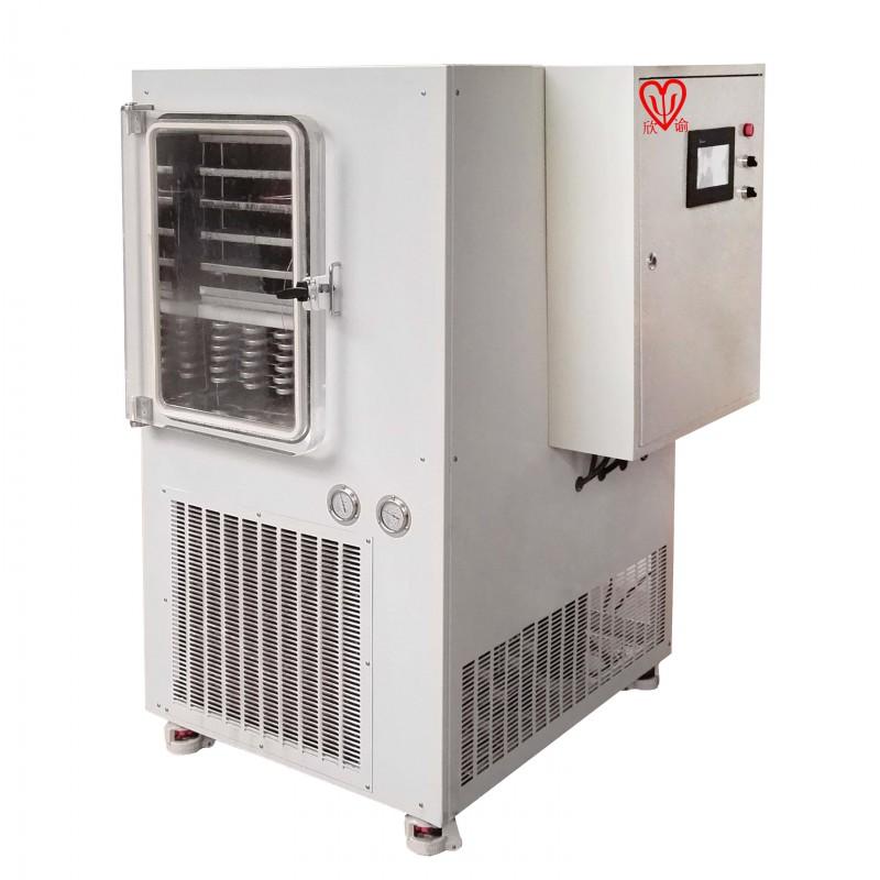 有机溶液深冷冻干机XY-FD-S5.2(Lyo)中试型冷冻干燥机定制型-120℃冻干机、真空冷冻干燥机