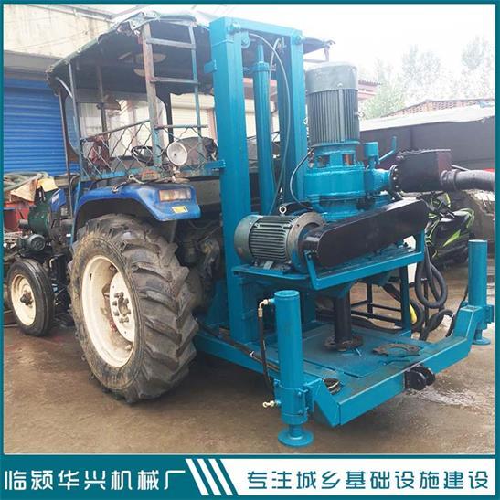 拖拉机带正反循环打井机  小型反循环打井机 打井机厂家