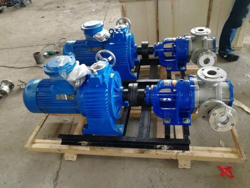 NYP内环式高粘度泵树脂输送泵高粘度转子泵