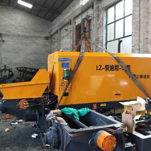 LZ-柴油版-50型 小型混凝土输送泵车 混凝土输送泵