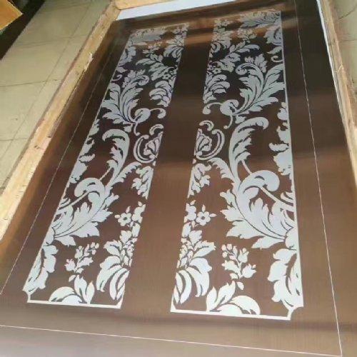 玫瑰金不锈钢板加工的用途