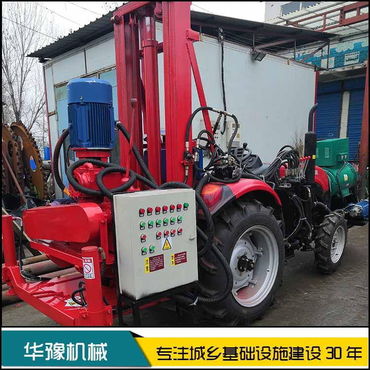 华豫四寸小型反循环钻机 车载反循环打井机