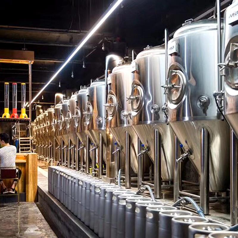 酿啤酒设备 产量500升精酿啤酒设备  鲜啤酒生产设备  北京厂家直销