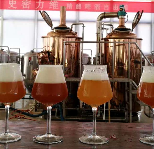 原浆啤酒机器  原浆精酿啤酒设备  北京史密力维原浆啤酒设备厂家