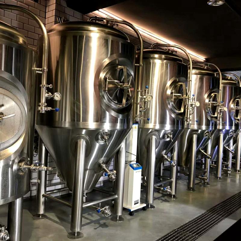 啤酒机械设备 小型啤酒厂啤酒酿造设备  北京史密力维啤酒设备制造商