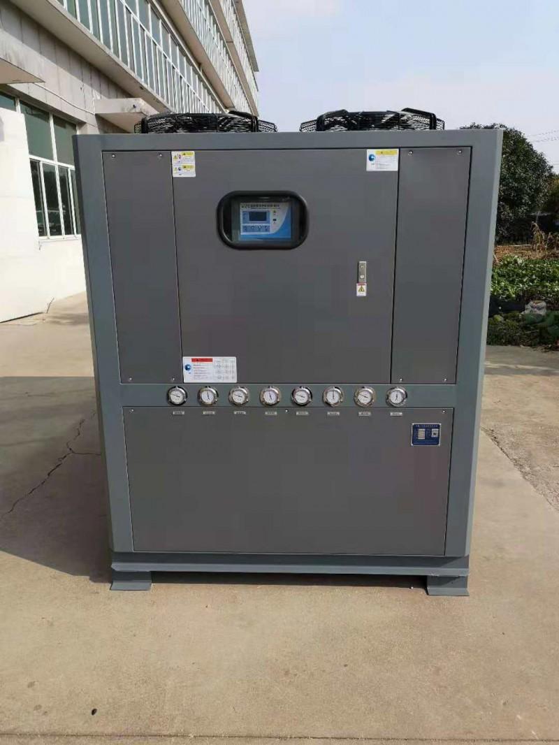 厂家供应双机头水冷螺杆式冷水机,螺杆式冷水机