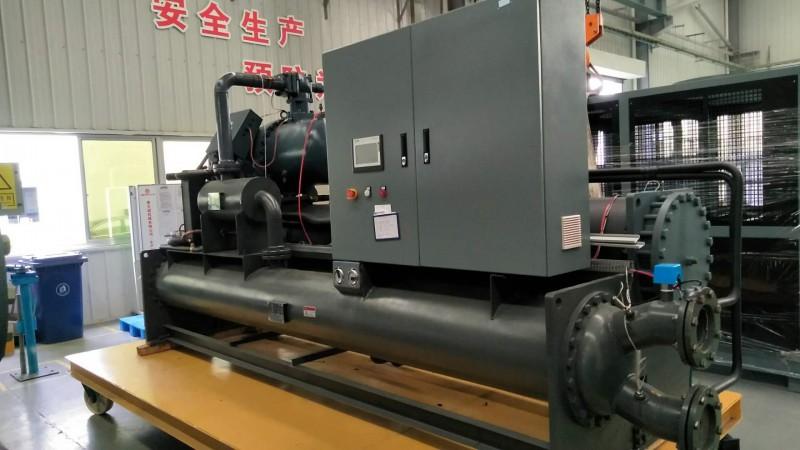 青岛单机头水冷螺杆式冷水机 超低温冷水机厂家供应