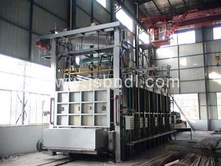 模壳焙烧燃油炉贯通式生产线、模壳焙烧燃油炉、燃油炉