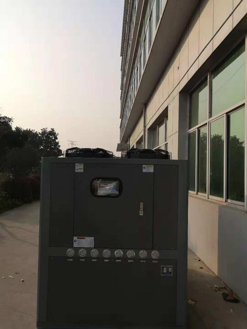玫尔牌50HP风冷螺杆式冷水机组 超低温冷水机厂家
