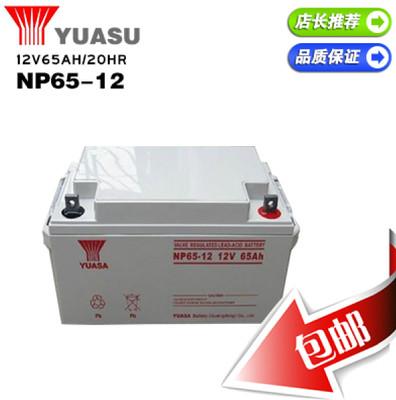 汤浅蓄电池 NP65-12汤浅12V65AH蓄电池 UPS专用蓄电池