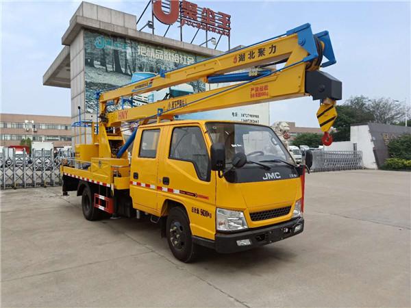 江铃16米双排高空作业车