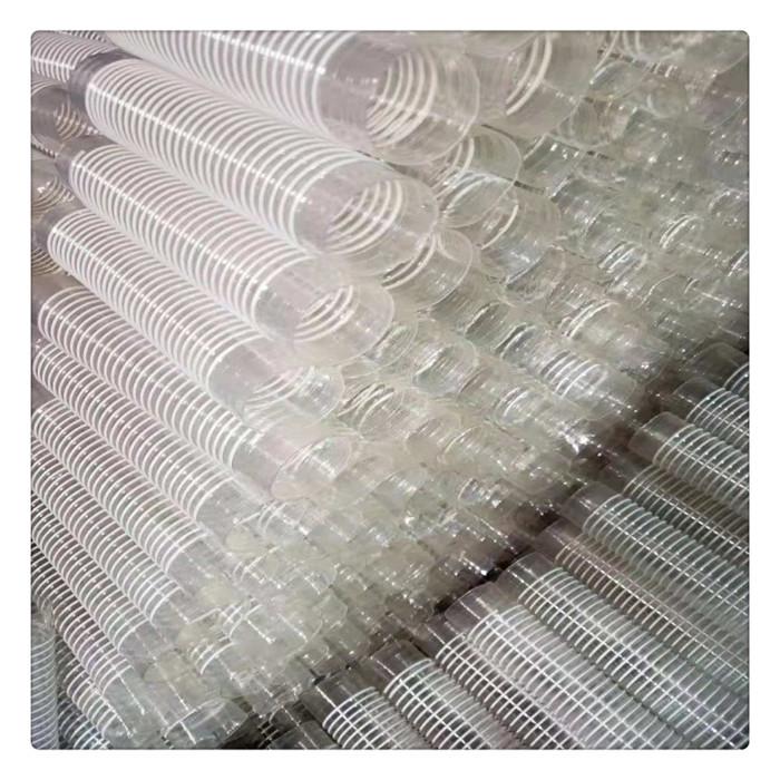 丰运管业厂家直销内径32-400mmPVC塑筋螺旋增强软管木工纺织吸尘管