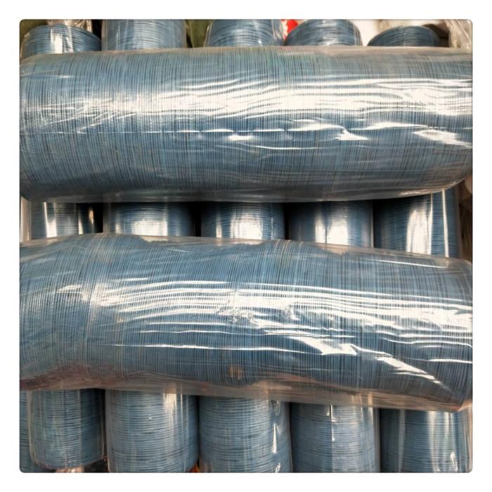 丰运管业供应蓝色阻燃抗撕裂尼龙布风管焊烟机风管