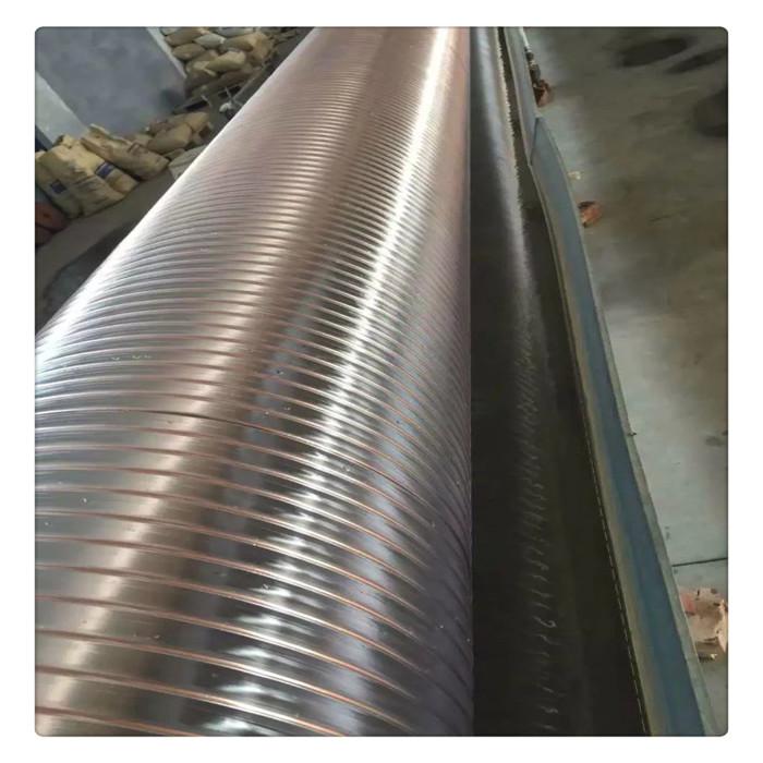 丰运管业供应内径25-650mmPU钢丝伸缩软管扫地车吸尘管聚氨酯伸缩风管钻孔机吸尘管