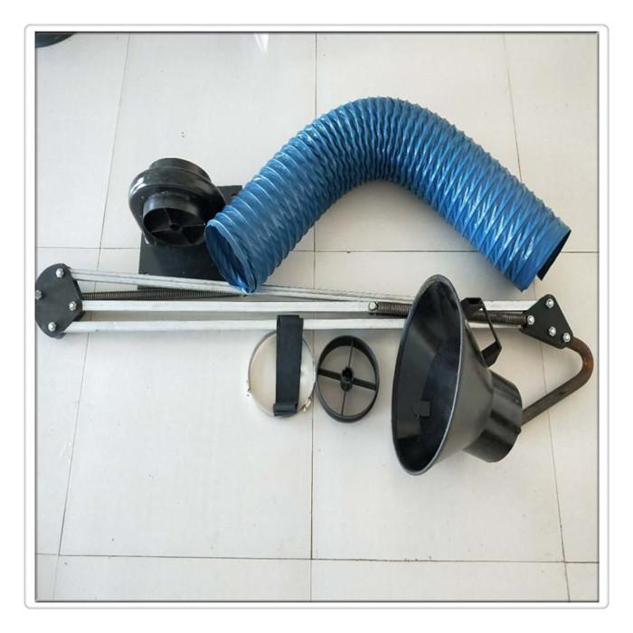 丰运管业供应万向吸气臂焊烟净化器吸气臂中央除尘吸气臂