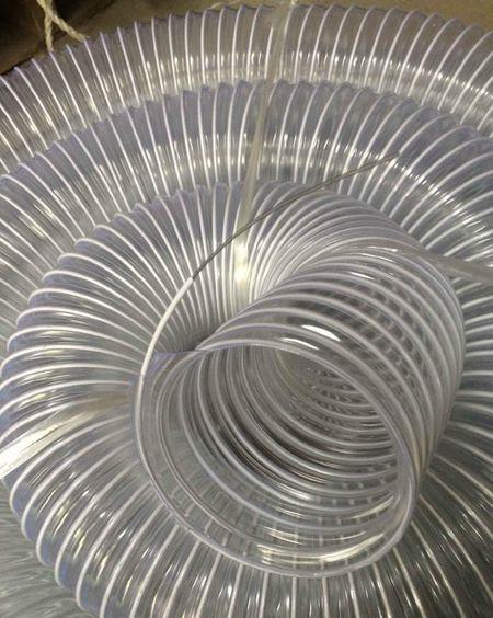 山东丰运管业供应各种规格PVC包塑钢丝风管
