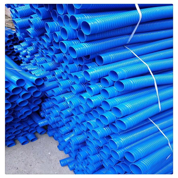 丰运管业供应各种规格各种颜色的PVC塑筋吸尘软管