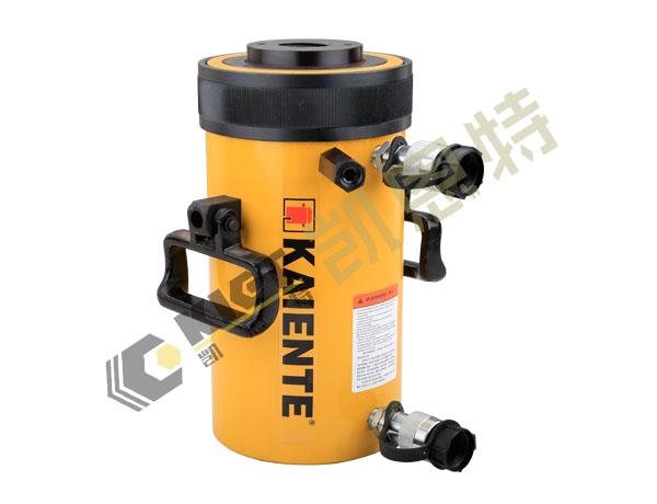 江苏凯恩特生产销售优质双作用大吨位中空液压千斤顶