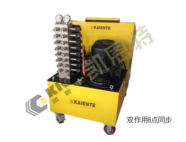 江苏凯恩特PLC脉宽控制同步顶升液压系统