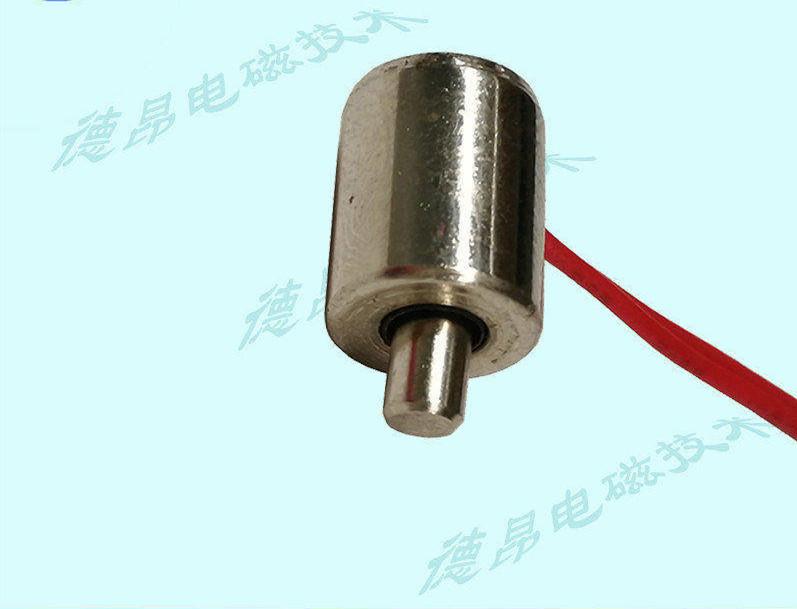 微型圆管电磁铁推拉式直流