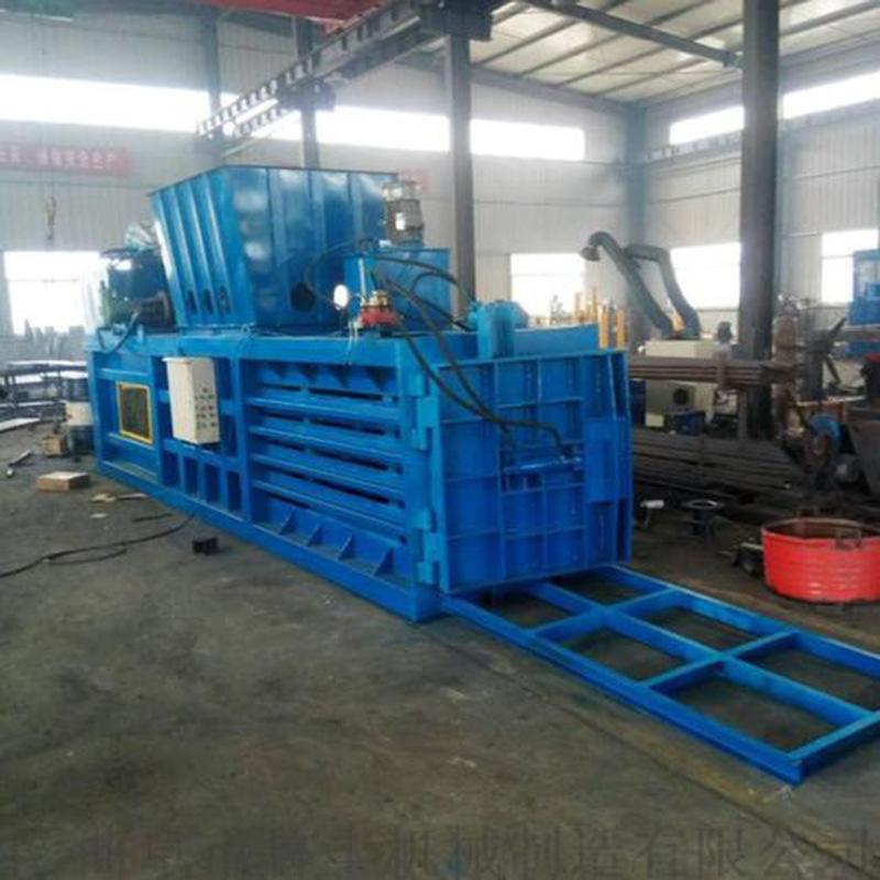 工厂直销废铁废铝不锈钢金属液压打包机 100吨卧式液压打包机