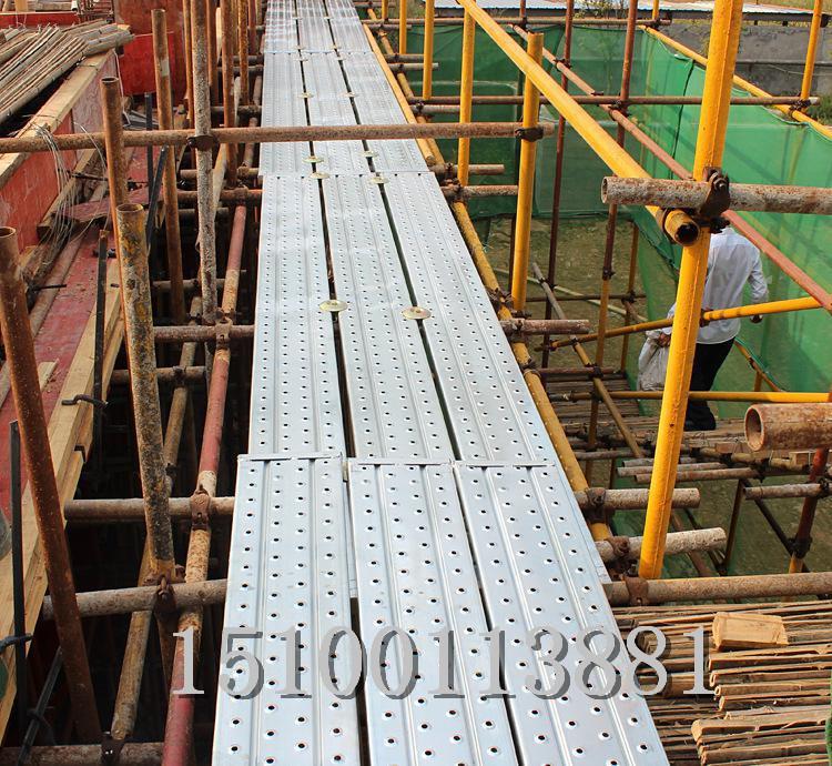 河北汇品专业生产镀锌脚手架钢跳板 船舶脚踏板