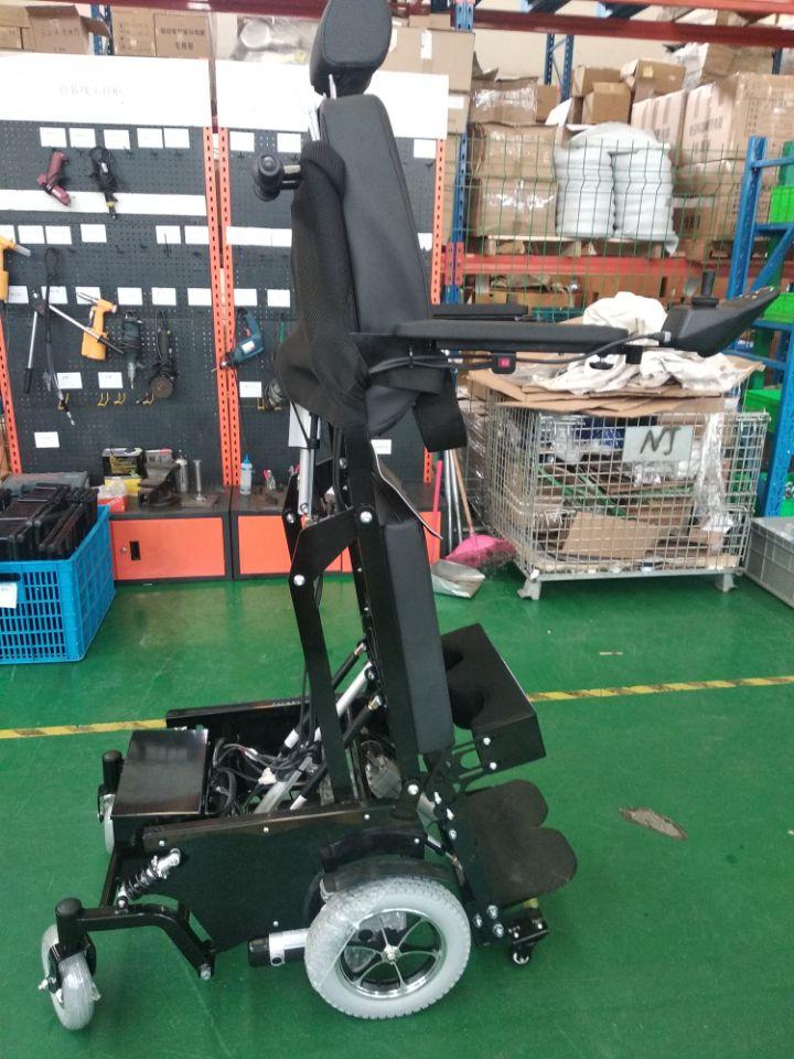 瘫痪病人用站立轮椅,可以站立的老年人代步车上海实体店铺