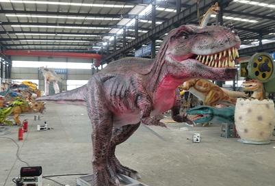 一手资源仿真恐龙模型 8米副栉龙