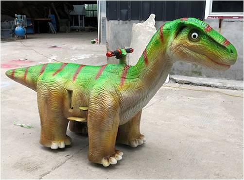 仿真恐龙跑跑车 可以播放音乐