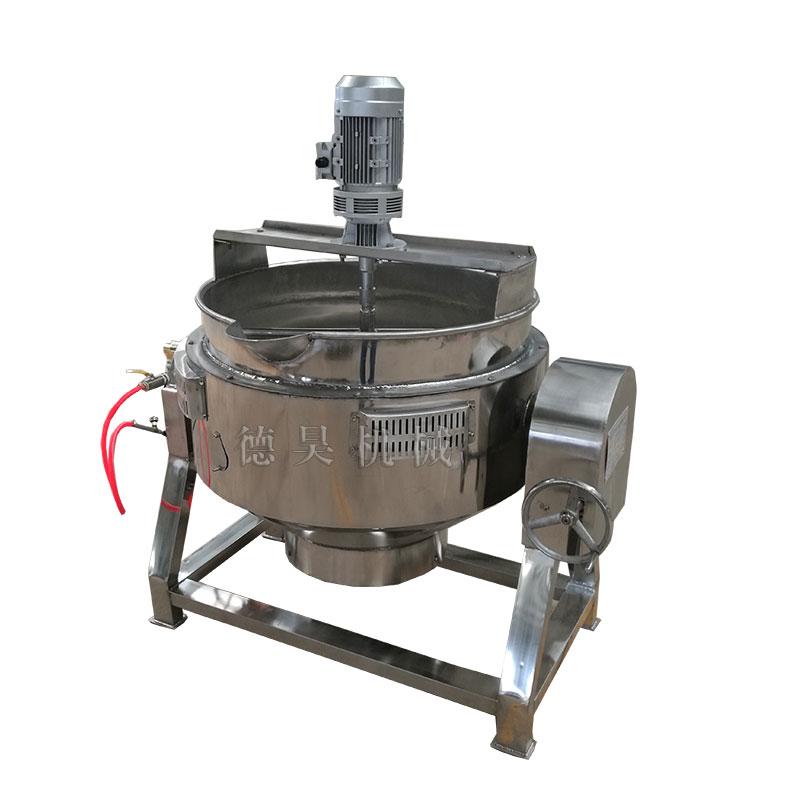 电加热可倾斜夹层锅,厂家直销