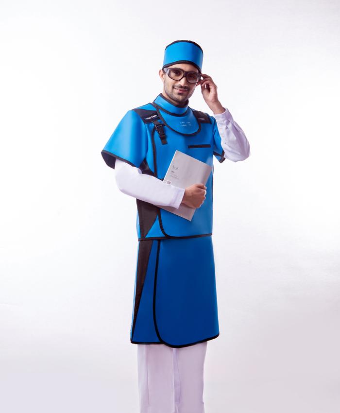 X射线防护服 PAA铅胶衣(反穿单面式)