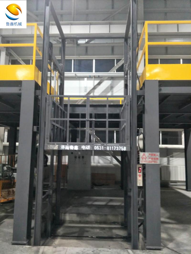 导轨升降平台 升降货梯 液压升降梯 厂家直销电动升降平台