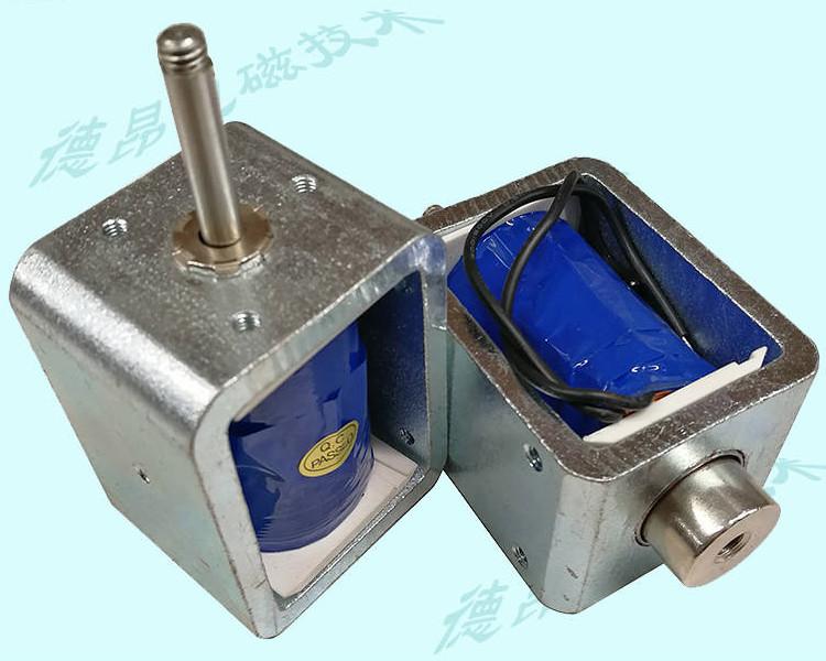 铁框式长行程30大功率电磁铁-方框型推拉式电磁铁
