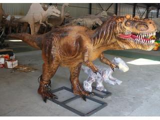 仿真机械恐龙/小型仿真恐龙模型/3米的仿真霸王龙