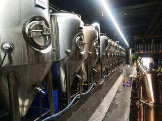 酒店专用德国精酿啤酒设备价格, 小型啤酒厂生产设备厂家