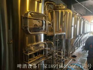 国产大型啤酒厂设备,啤酒生产线设备,自酿啤酒设备价格