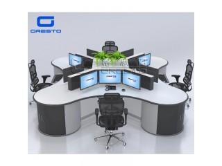格思图SC-60消防指挥中心主控桌 升降控制台